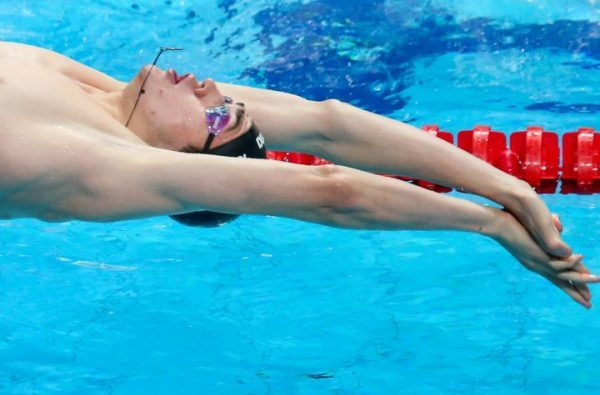 Kliment Kolesnikov, Russian Swimmer, World Record, 100 backstroke swimming, Russia Swimming, Swim.by