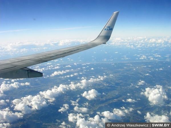 KLM Авиалинии, Andrzej Waszkewicz - Андрей Вашкевич плавание блог Swim.by