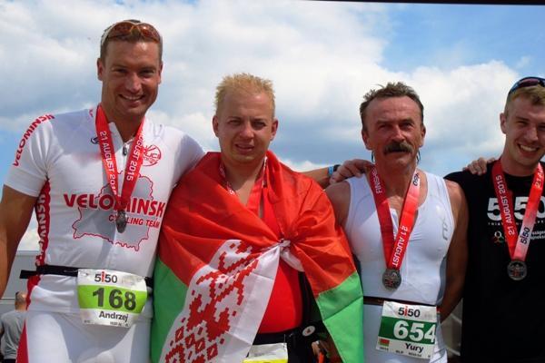 Команда ВелоМинск, триатлон Будапешт