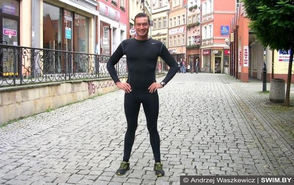 Компрессионная одежда для спорта, компрессионное бельё, Анджей Вашкевич