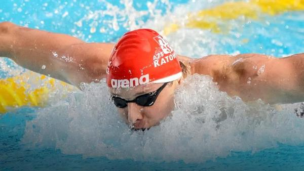 Konrad Czerniak swimming, Люблин 2015