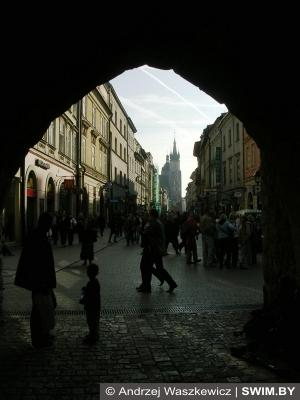 Краков, улицы, Польша