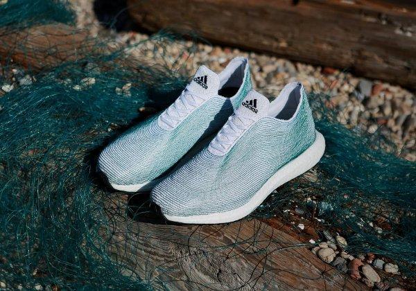 Кроссовки Adidas, кроссовки Adidas из отходов океана, магазин Adidas