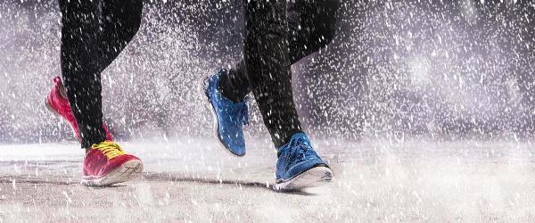 Кроссовки, бег, зима, зимняя обувь для спорта