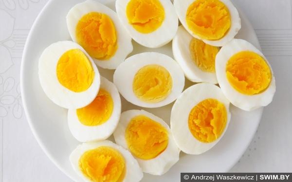 Куриные яйца, спортивная диета