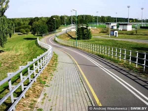 Landscape, Minsk cycling route