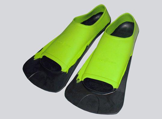 Короткие ласты для плавания Fins Training II Rubber от Mad Wave