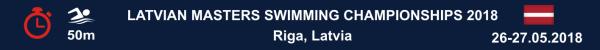 Latvian Masters Swimming Championships 2018, Latvia Open Masters Swimming Championship 2018, Чемпионат Латвии по плаванию Мастерс Результаты 2018