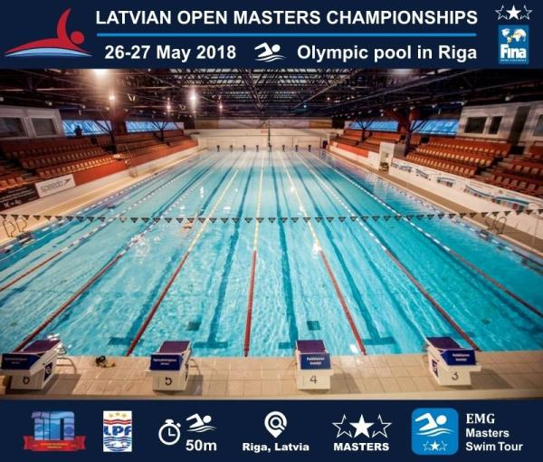 Latvian Open Masters Swimming Championships 2018, EMG Masters, Latvia Masters Swimming, Latvian Masters Swimming Championship 2018, www.swim.by
