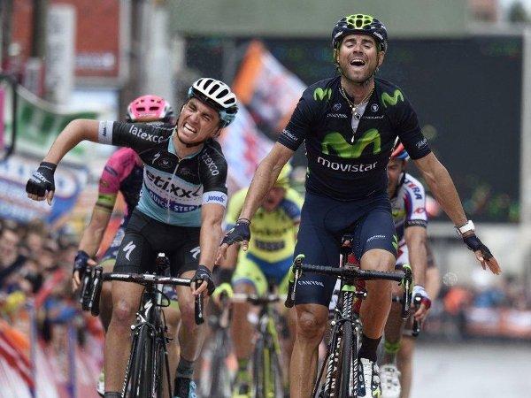 Алехандро Вальверде, велосипедная гонка Liege-Bastogne-Liege, велогонка Льеж-Бастонь-Льеж