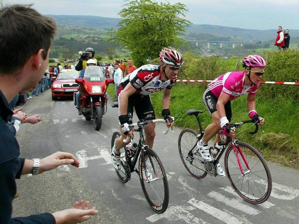 Йенс Фогт, Александр Винокуров, велосипедная гонка Liege-Bastogne-Liege, велогонка Льеж-Бастонь-Льеж