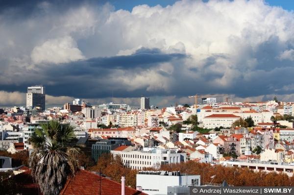 Лиссабон панорама фото погода