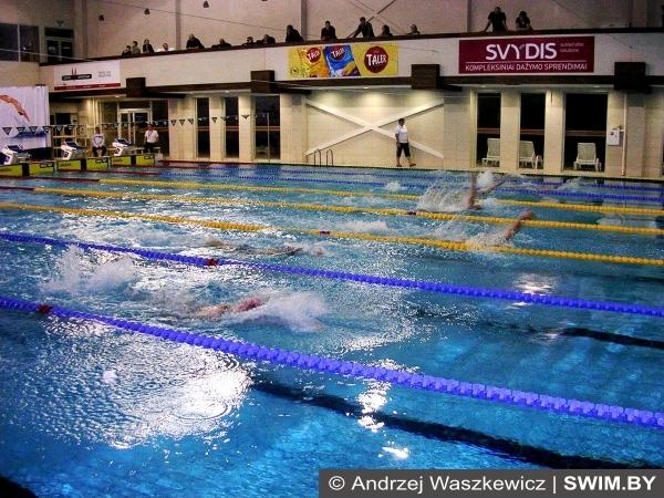 Lithuanian masters swimming championships Kaunas