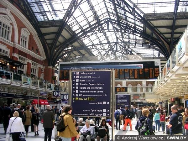 Лондон, Ливерпуль-стрит, Ливерпульский вокзал Лондона