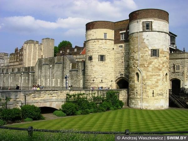 Лондон, крепость Тауэр