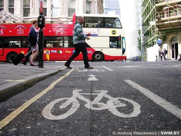 Лондон, велосипедная инфраструктура Лондона, велодорожки Лондона
