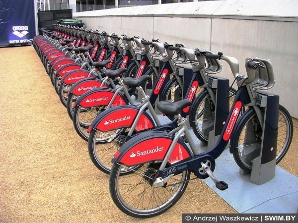 Лондон, велосипеды в Лондоне, велопрокат Лондона
