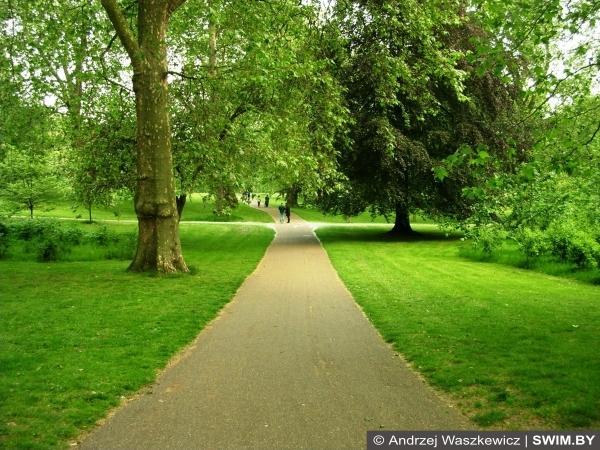 Лондон, Грин-парк, где побегать в Лондоне
