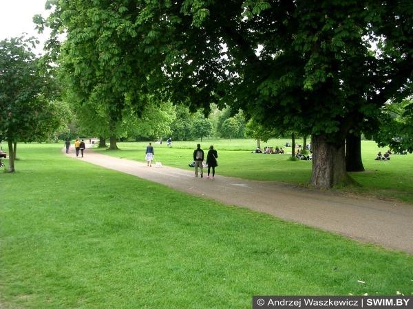 Лондон, Гайд-парк, Hyde Park, бег в Гайд-парке, бег в Лондоне