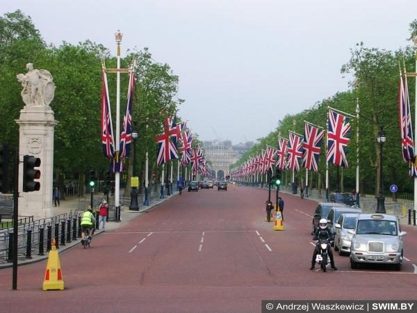 Лондон, улица Мэлл, Лондонский марафон