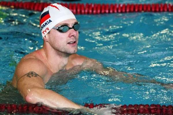 Ľuboš Križko, Swimming Coach, Masters Athlete
