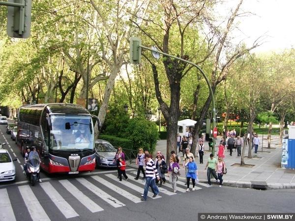 Мадрид бег run marathon