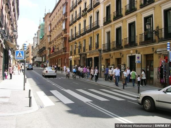 Мадрид марафон бег 42 км