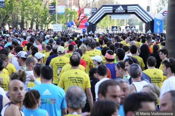 Марафон Мадрид, 42 км, бег