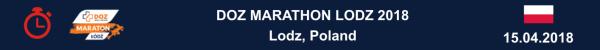 Marathon Lodz 2018 Results, DOZ Maraton Łódź 2018 Wyniki, Марафон Лодзь 2018 Результаты