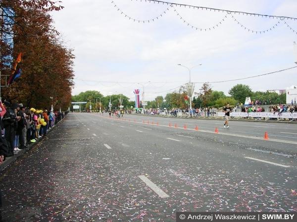 Маршрут, карта Минский марафон