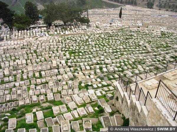Масличная гора, Иерусалим, древнее иудейское кладбище