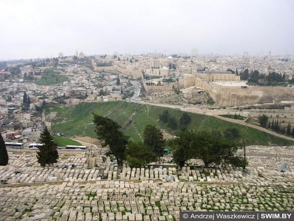 Масличная гора, Иерусалим, иудейское кладбище