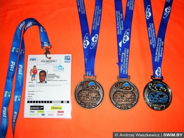 Masters, чемпионат, соревнования по плаванию, Андрей Вашкевич, Andrzej Waszkewicz