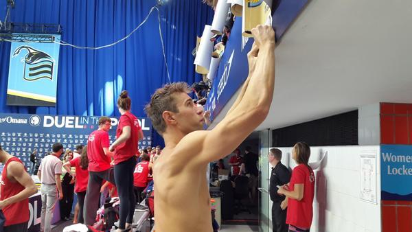 Мэтью Гриверс плавание, Duel in the Pool 2015