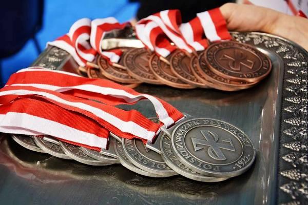 Медали чемпионата Польши по плаванию 2015