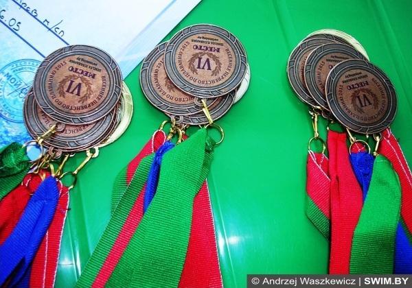 Медали, дипломы, плавание Беларуси
