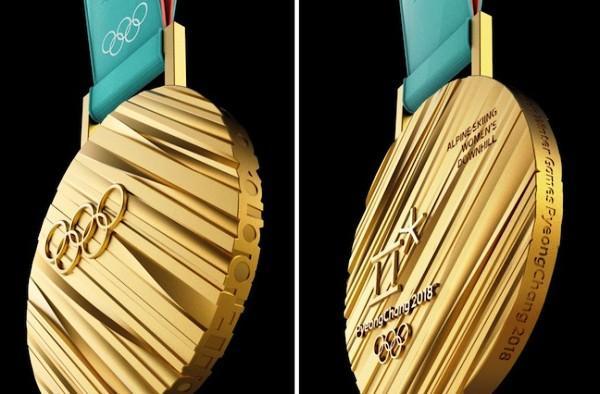 Дизайн медалей Зимних Олимпийских Игр 2018, олимпийские медали 2018, Пхенчхан-2018