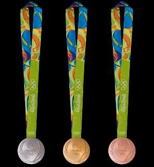 Дизайн медалей Олимпийских и Паралимпийских Игр 2016