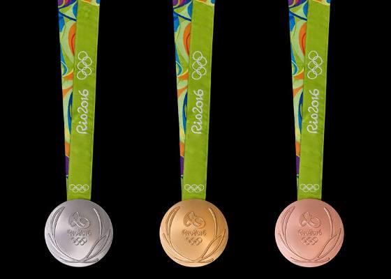Дизайн медалей Олимпийских и Парампийских Игр-2016
