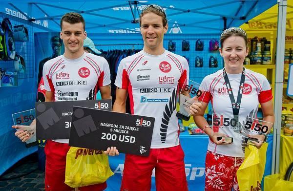 Mikołaj Luft триатлон, Ironman 70.3 Gdynia 2016, Ironman triathlon