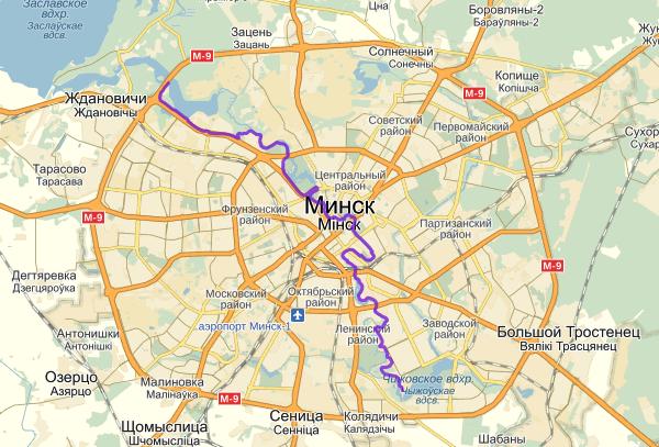 Minsk bicycle path, biking, велодорожка Минска, Беларусь