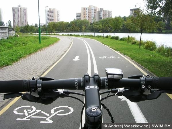 Minsk bicycle path