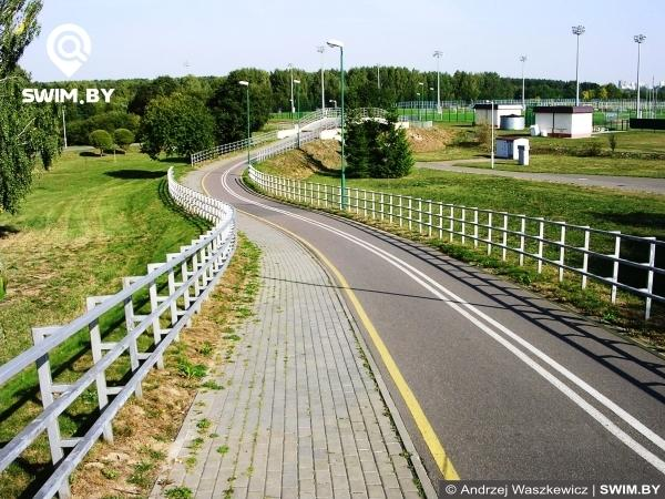 Minsk bike path route, Минская велосипедная дорожка, маршрут