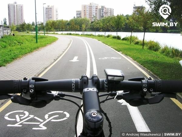 Minsk bike path,  Минская велодорожка