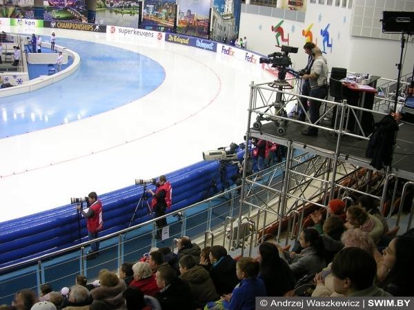 Конькобежный спорт в Минске, Minsk speed skating