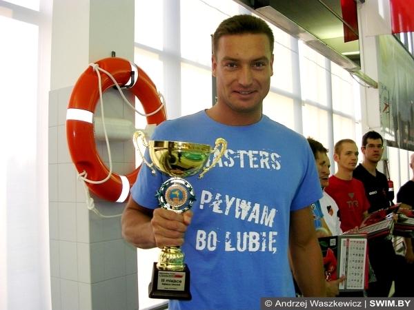 Mistrzostwa Polski w pływaniu Kraków-2013, Andrzej Waszkewicz