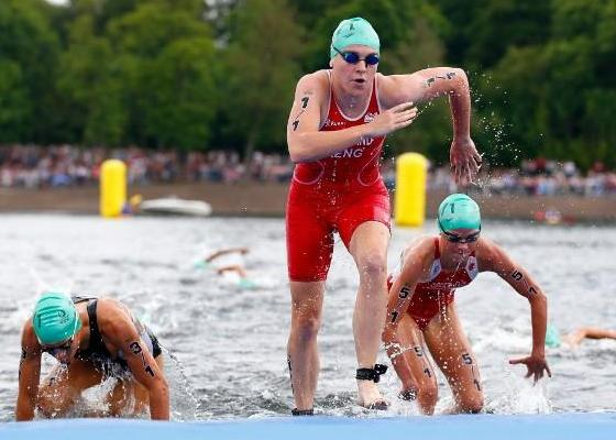What is Mixed Relay in Triathlon competition, EMG Sport, www.swim.by
