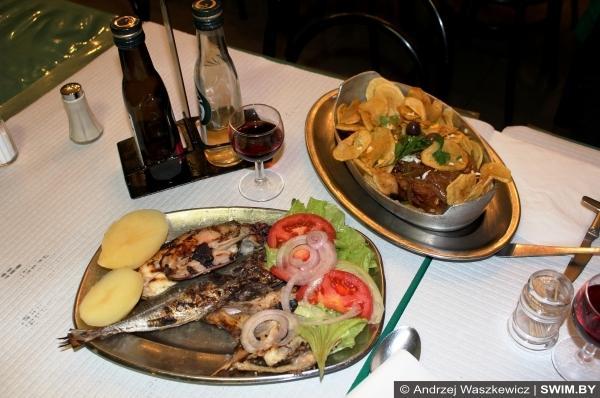 Морепродукты seafood польза плавание Andrzej Waszkewicz блог