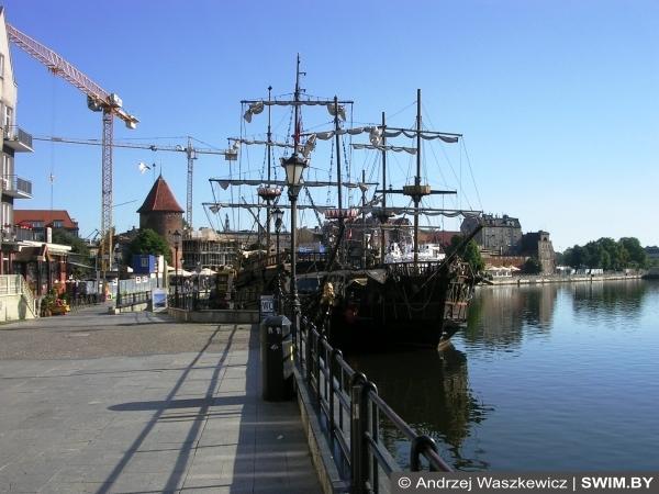 Морской порт в Гданьске, Балтийский велотур