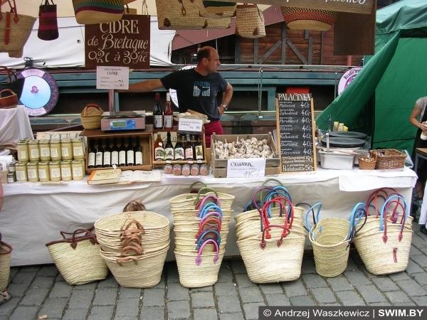 Москва, Минск, центральный рынок